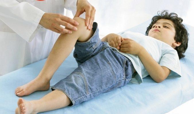 Hygroma под коляното и в коляното в плода на детето..