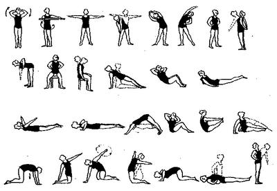 Упражнения за деца за предотвратяване на сколиоза - Болки..