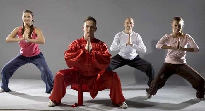 Китайска гимнастика за гръбначния стълб: упражнение..