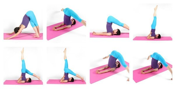 Йога упражнения от разширени вени - Varicosities